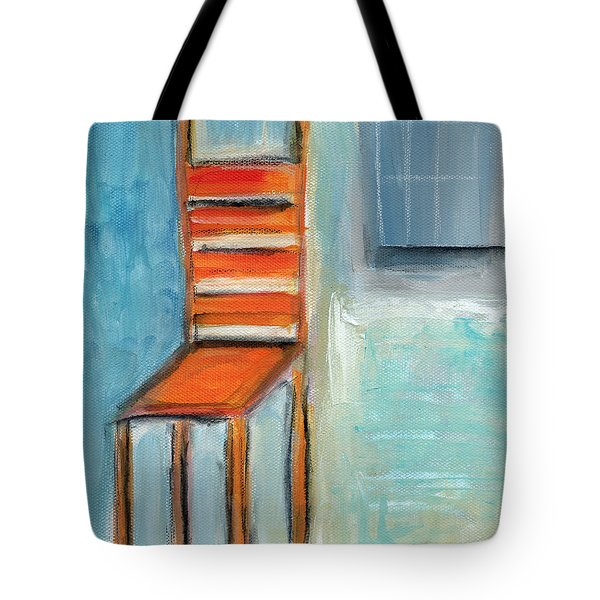 Chair By The Window- Painting Tote Bag