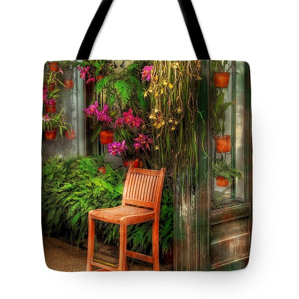 Chair - The Chair Tote Bag by Mike Savad