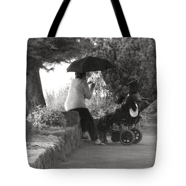 Chair With A View Tote Bag