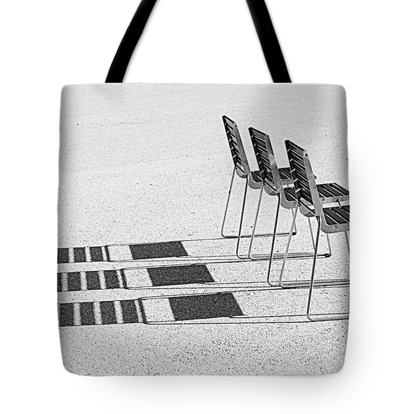 Chairs In The Sun Tote Bag