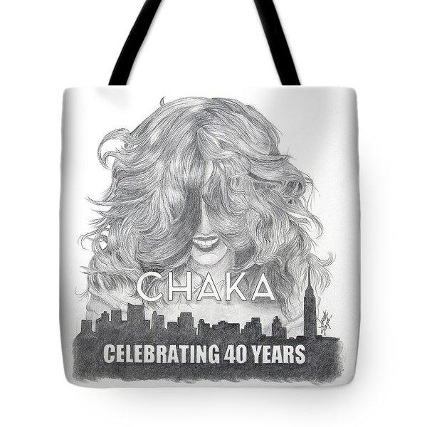 Chaka 40 Years Tote Bag