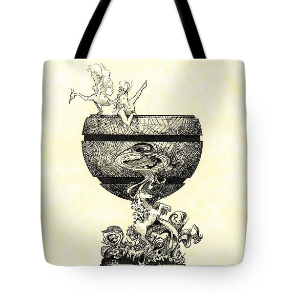 Chalice Tote Bag by Julio Lopez