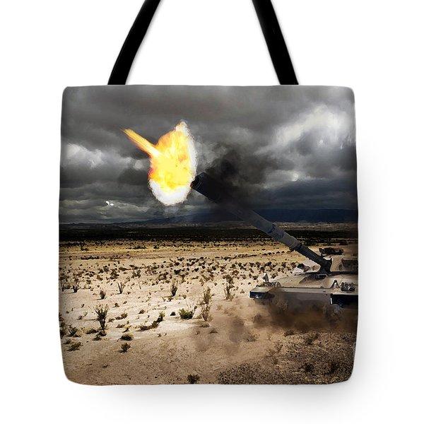 Challenger 1 Tote Bag by J Biggadike