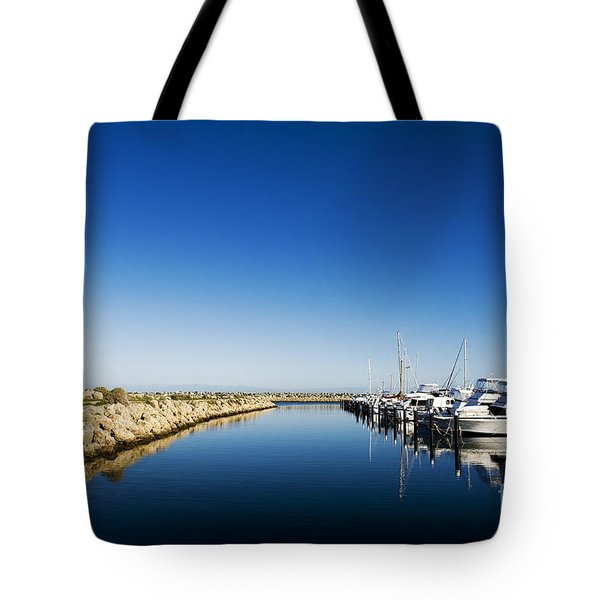Challenger Harbour Of Fremantle Tote Bag