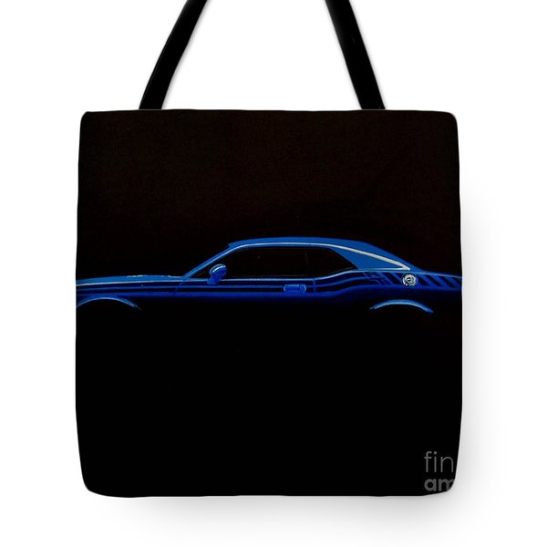 Challenger Silhouette Tote Bag by Paul Kuras