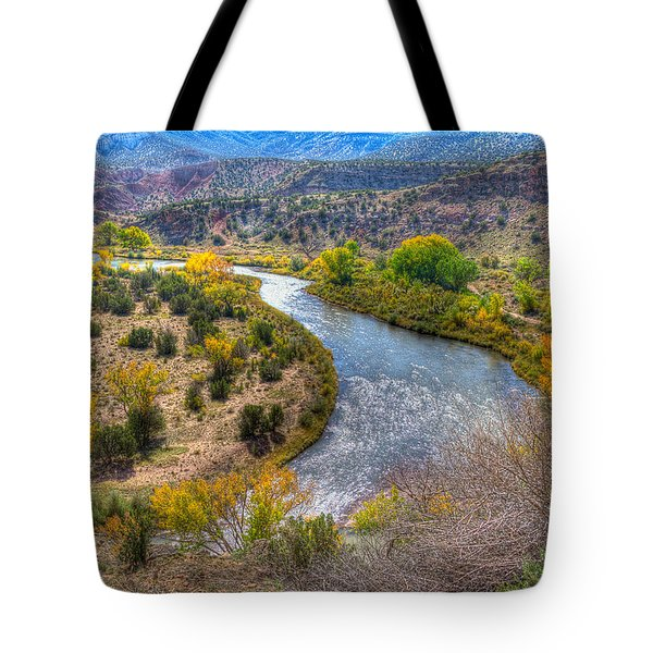Chama River Overlook Tote Bag