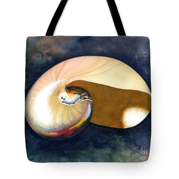 Chambered Nautilus Tote Bag