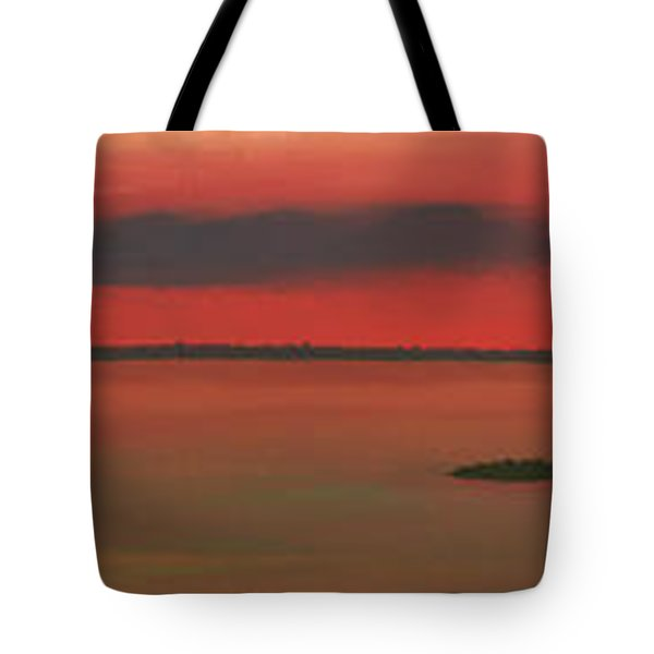 Chambers Island Sunset Tote Bag