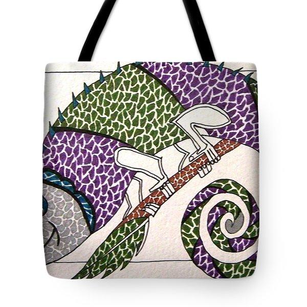 Chameleon Tote Bag by Kruti Shah