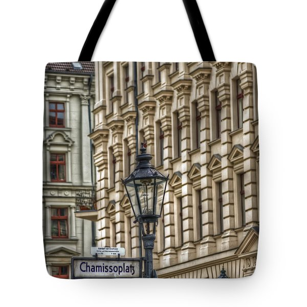 Chamissoplatz Tote Bag by Nathan Wright