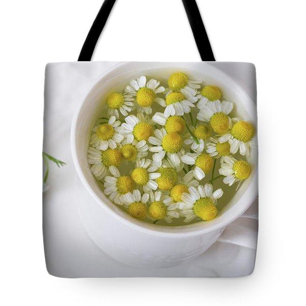 Chamomile Tea Tote Bag