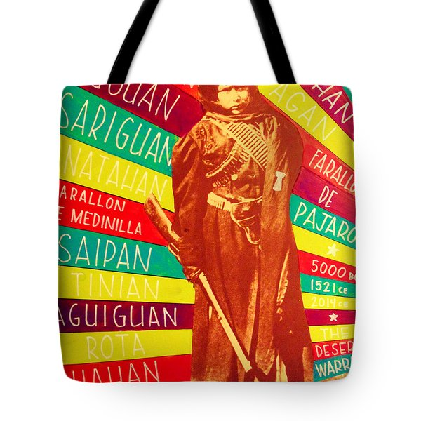Chamorro Revolutionary Tote Bag