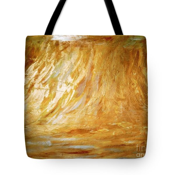 Champ De Ble' Tote Bag by Fereshteh Stoecklein