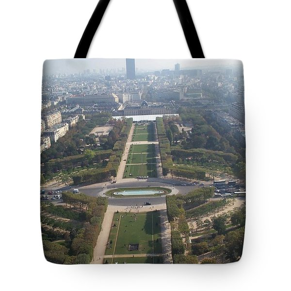 Tote Bag featuring the photograph Champ De Mars by Barbara McDevitt