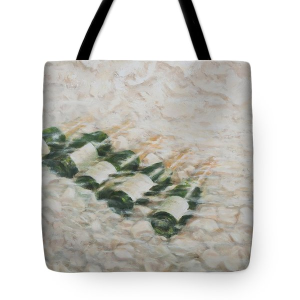 Champagne Cooling Tote Bag by Lincoln Seligman