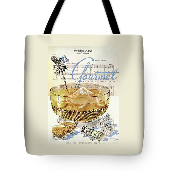 Champagne Punch And The Wedding March Tote Bag