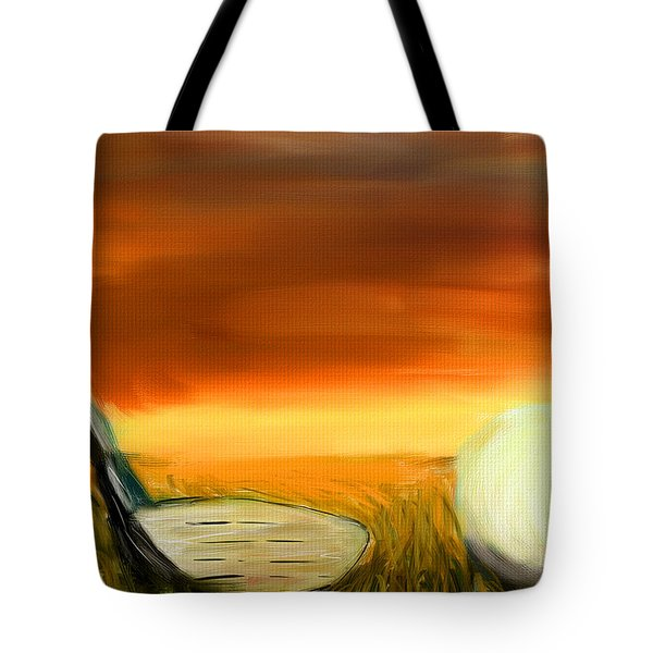 Chance To Hit Tote Bag by Lourry Legarde