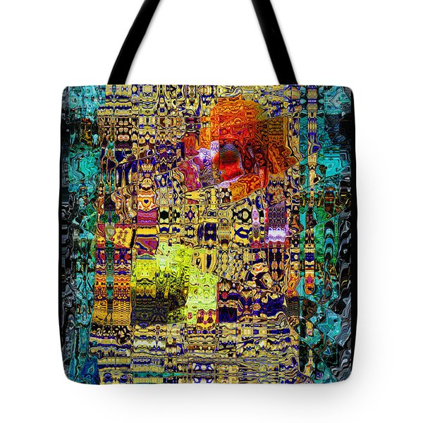 Chandelier Mosaic 1 Tote Bag