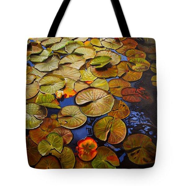 Change Of Season Tote Bag by Thu Nguyen