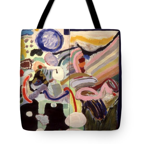 Changes In Space Tote Bag