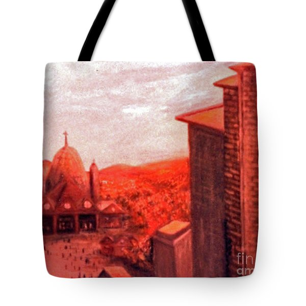 Changing Focus Tote Bag