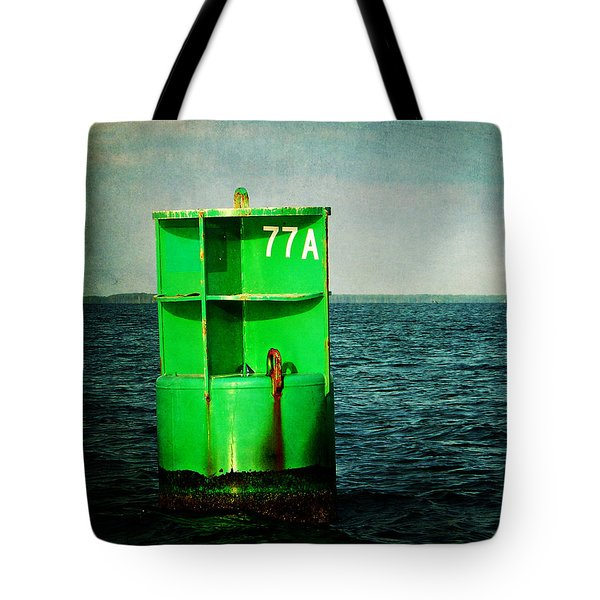 Channel Marker 77a Tote Bag
