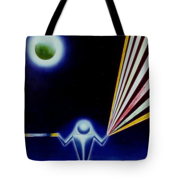 Channeling Tote Bag
