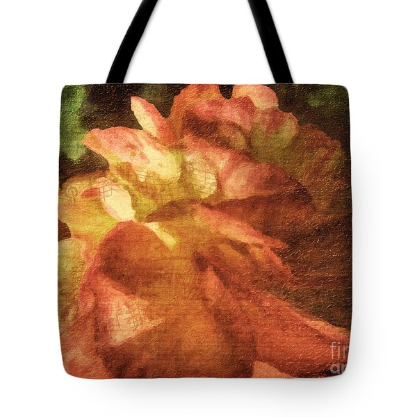 Tote Bag featuring the digital art Chanson D'amour by Lianne Schneider