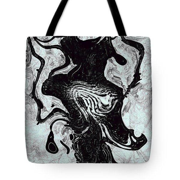 Tote Bag featuring the digital art Chanteuse by Richard Thomas
