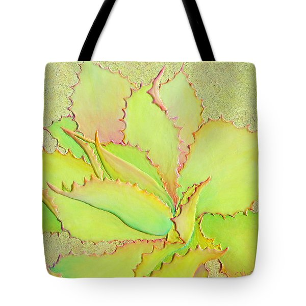 Tote Bag featuring the painting Chantilly Lace by Sandi Whetzel