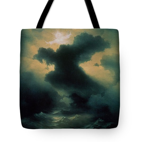 Chaos The Creation Tote Bag by Ivan Konstantinovich Aivazovsky