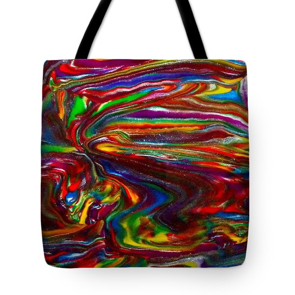 Chaotic Flow Tote Bag