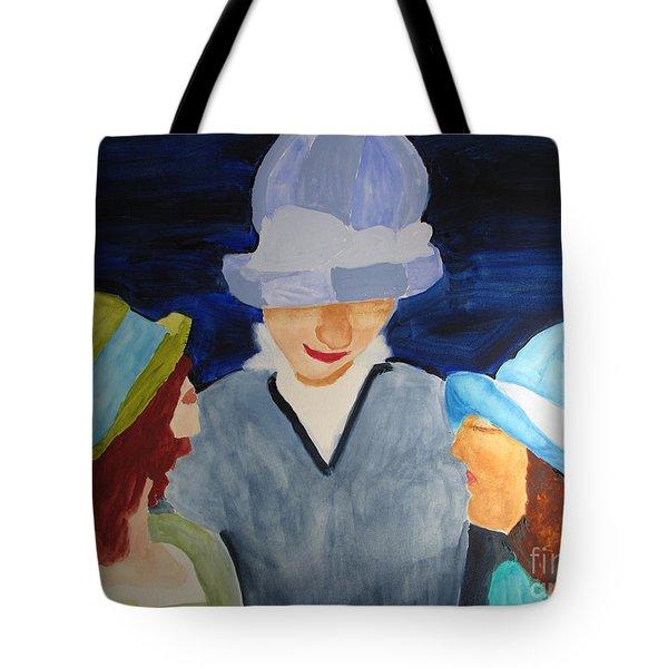 Chapeaux Trois Tote Bag