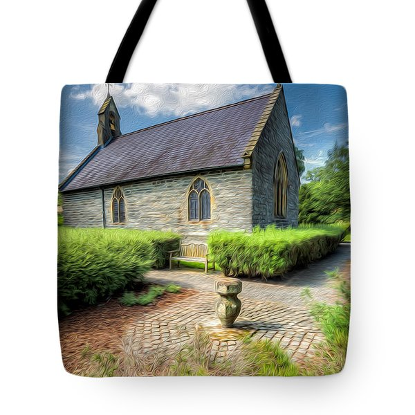 Chapel 17th Century  Tote Bag by Adrian Evans