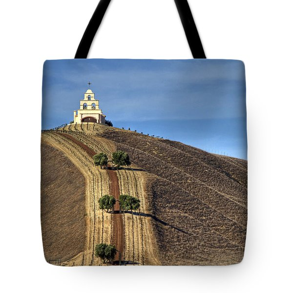 Chapel Hill Tote Bag by Donna Kennedy