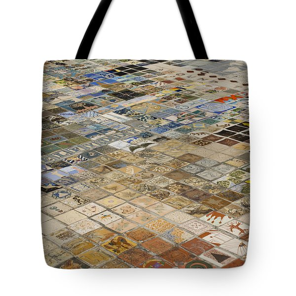 Chapel Of Art Tote Bag by Anne Gilbert