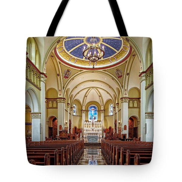 Tote Bag featuring the photograph Chapel Of The Immaculate Conception by Jim Thompson