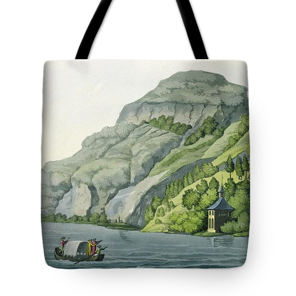 Chapel Of William Tell, From Customs Tote Bag by Vittorio Raineri