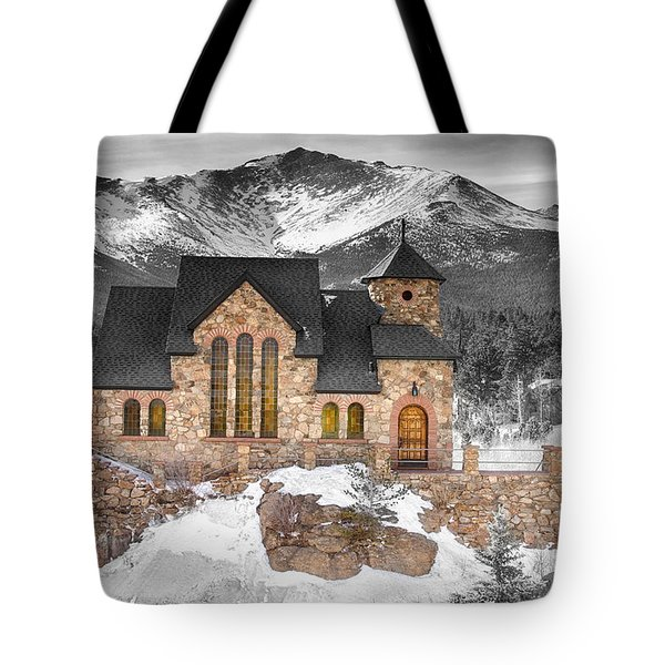 Chapel On The Rock Bwsc Tote Bag by James BO  Insogna