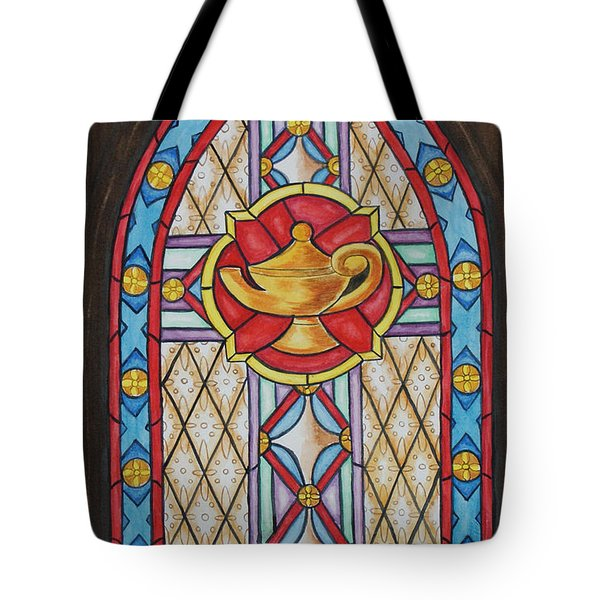 Chapel Window Tote Bag