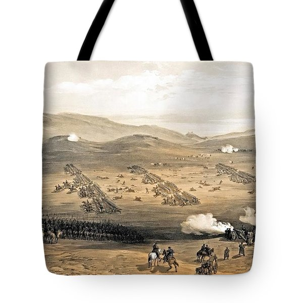 Charge Of The Light Cavalry Brigade Tote Bag