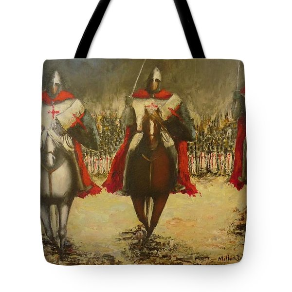 Charge To Battle Tote Bag