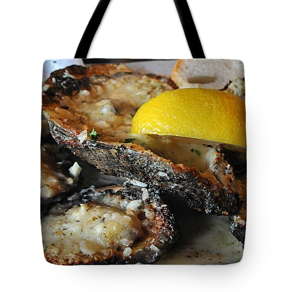 Chargrilled Oysters Tote Bag