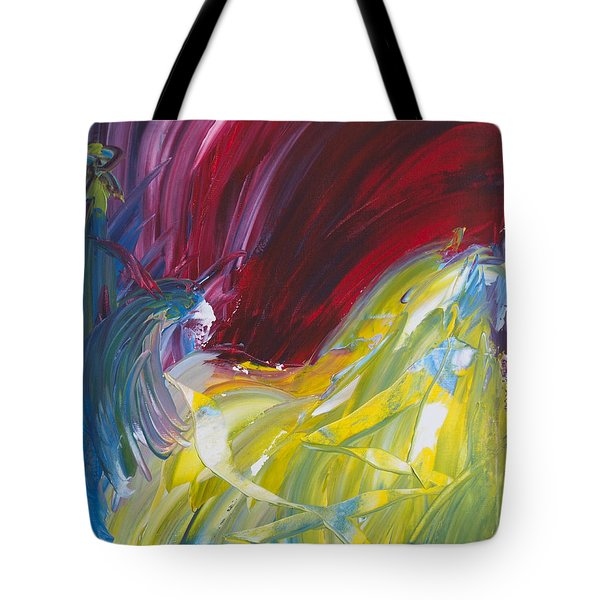 Chariot Through Hell Tote Bag