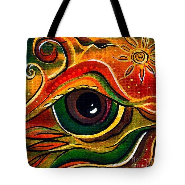 Charismatic Spirit Eye Tote Bag by Deborha Kerr