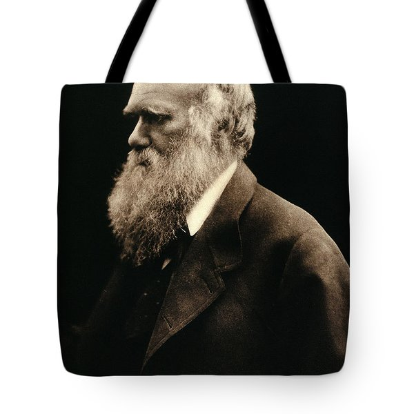 Charles Darwin By Julia Margaret Tote Bag by Wellcome Images