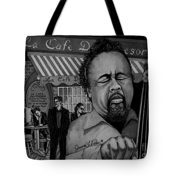 Jazz Charles Mingus Jr Tote Bag