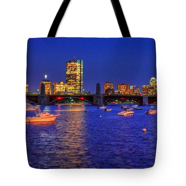 Charles River Basin 013 Tote Bag