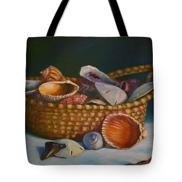Charleston Basket Tote Bag by Dorothy Allston Rogers