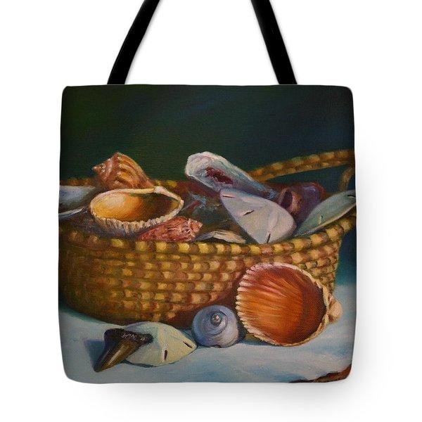 Charleston Basket Tote Bag